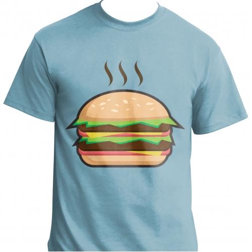 warm burger