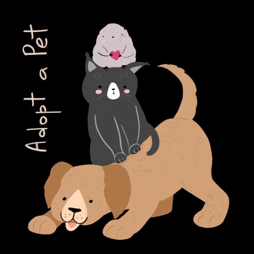 Adopt a Pet (TRANSPARENT)