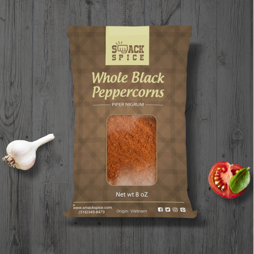Label design for spice bags