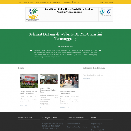 pendaftaran online
