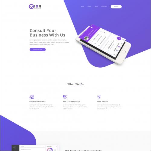 Zion Outsourcing Web design