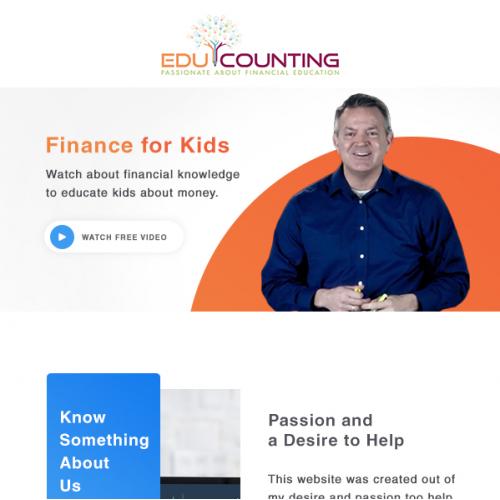 EduCounting NewsLetter Design