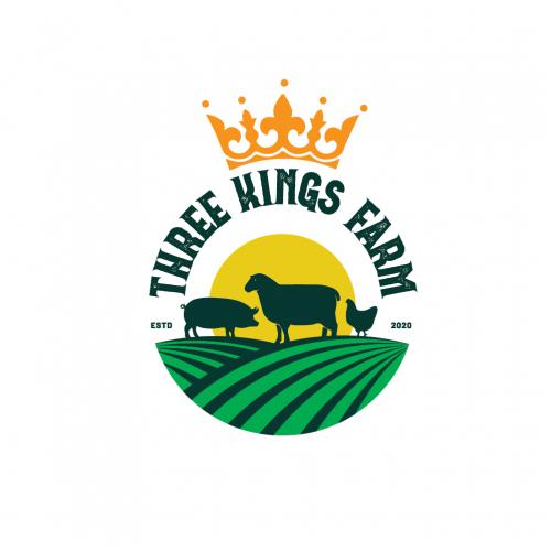 THREE KINGS FARM logo