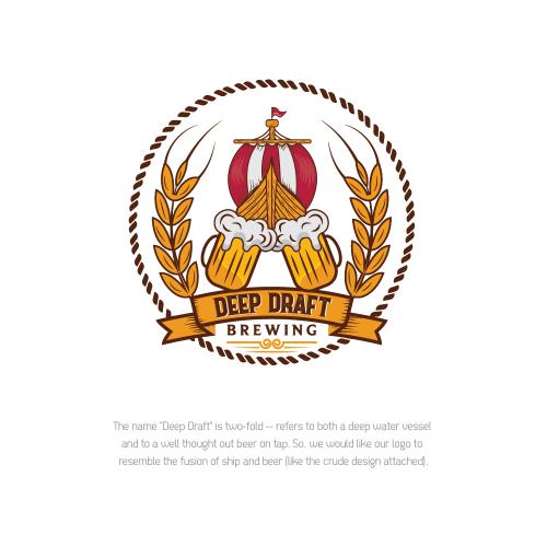 DEEP DRAFT logo