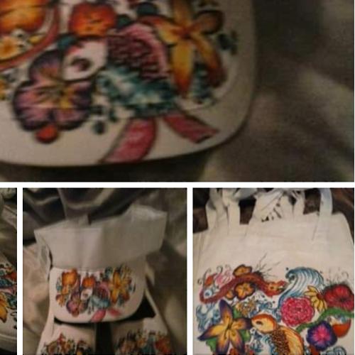 CUSTOM SHOES/HAT/BAGS DESIGNS