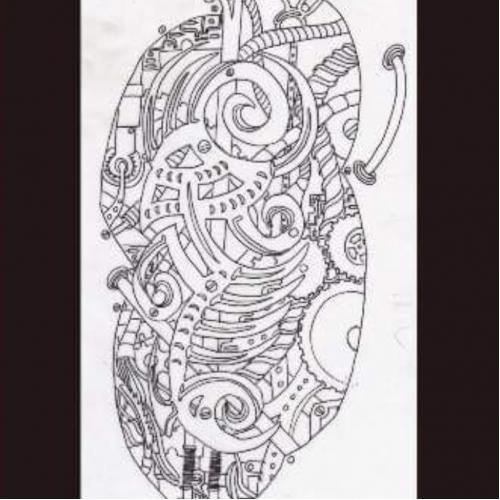 INK LINE ILLUSTRATIONS