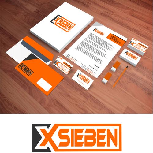 XSieben Stationery Design