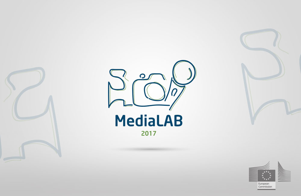 Logo design for media project