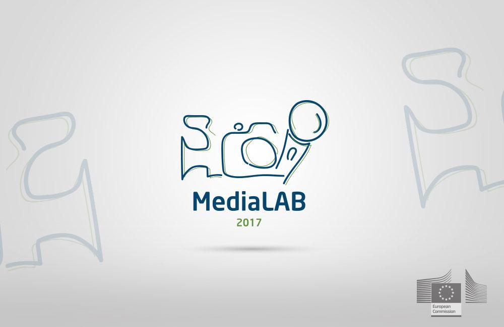 Logo design for media project