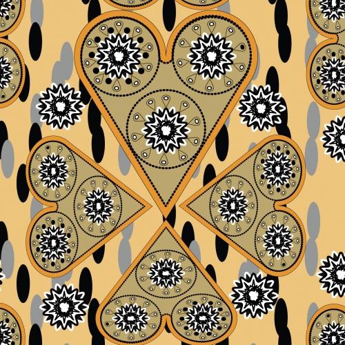 Ornament Love Pattern