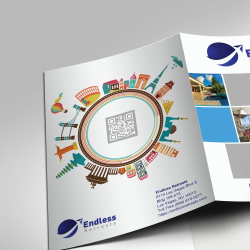 Travel presentation folders
