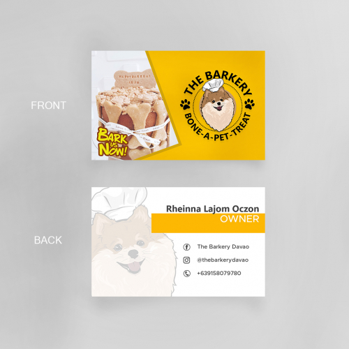 Barkery Business Card