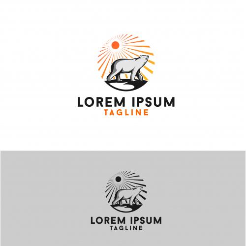 polar and sun logo