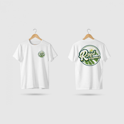 Shirt Mockup for Royal Reserves
