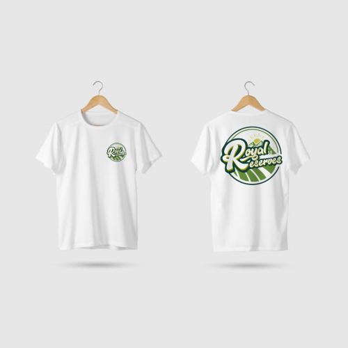 Shirt Mockup for Royal Reserves