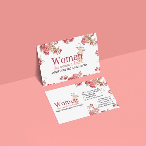 Women Business Card
