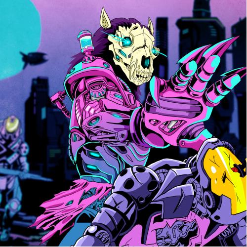 werewolf cyborg