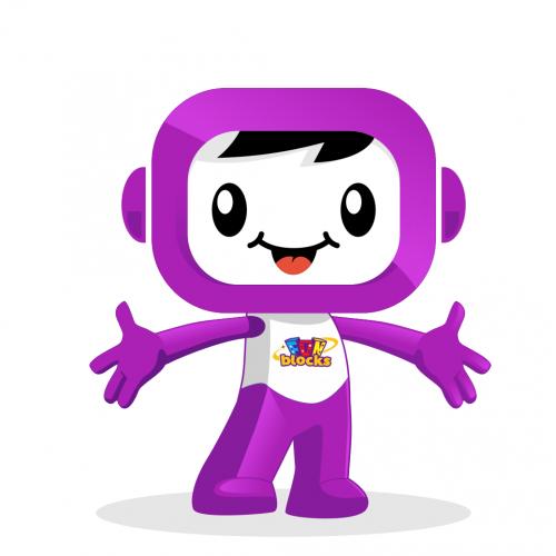 fun block mascot