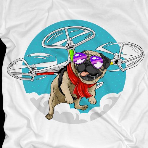 pug drone