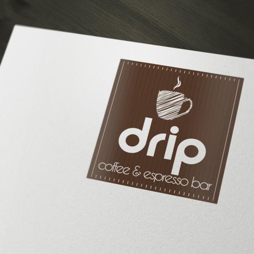 Logo for DRIP coffee