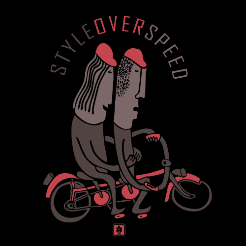 Style over speed - Tandembike