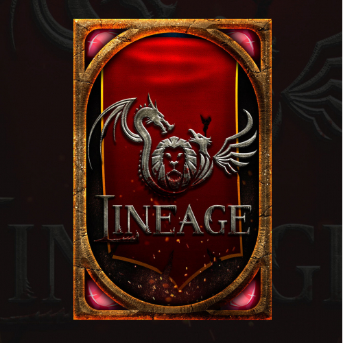 Card Back and Logo Design for Lineage
