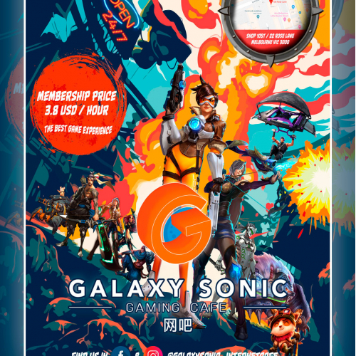 Poster Design For Galaxy Sonic