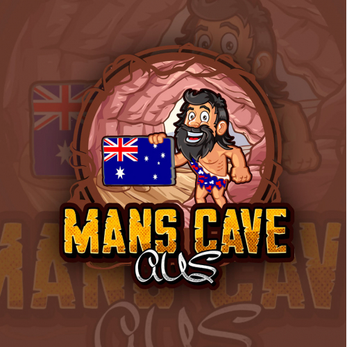 Logo Design for Mans Cave