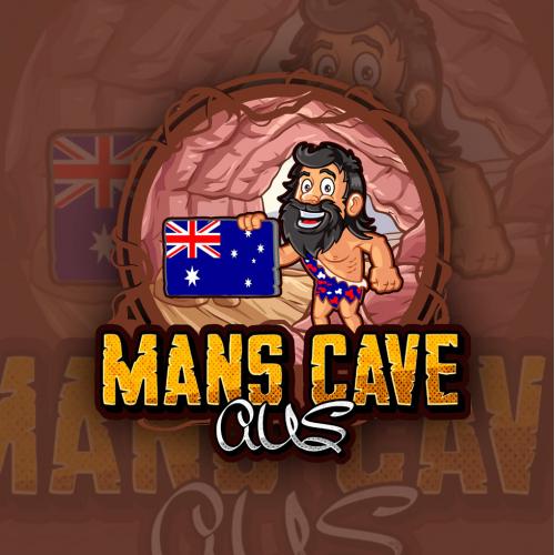 Logo Design for Mans Cave