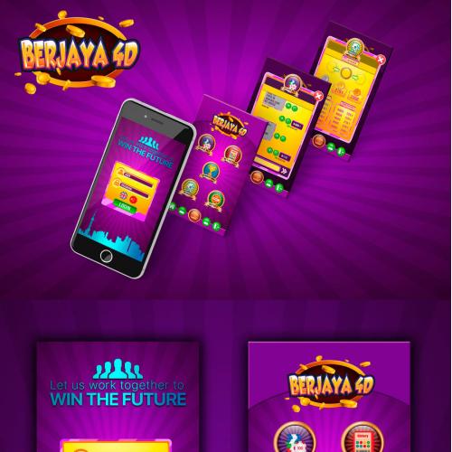 App Design For Berjaya 4D