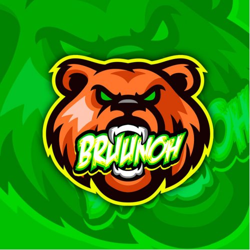 Logo and Tshirt Design for Bruunoh