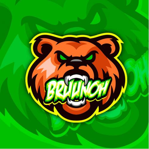 Logo and Tshirt Design for Bruunoh