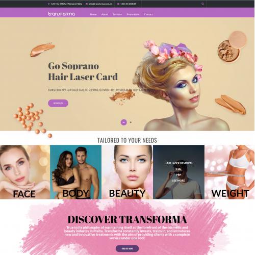 Transforma Website Design