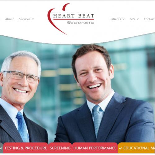 Heart Beat Website Design