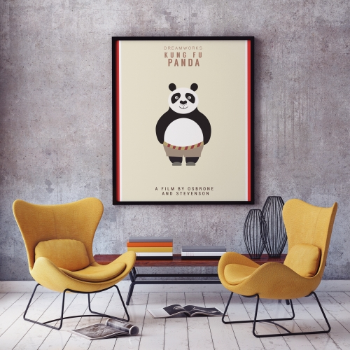 Kung Fu Panda - Poster Design