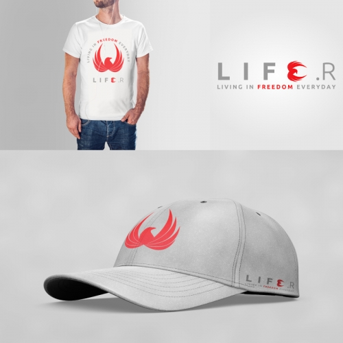 Logo , T-shirt and hat