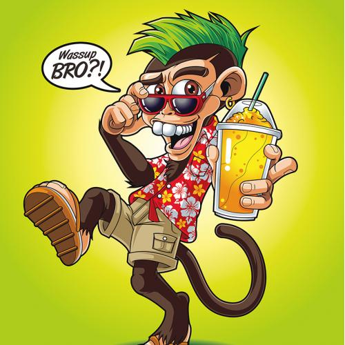 Slushed Up Monkey