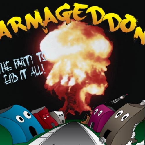 Armageddon Party Poster