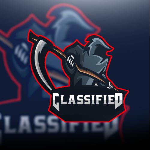Classified mascot logo