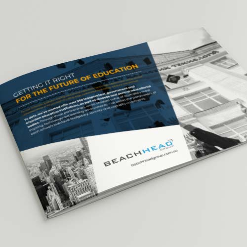 BH Group - Brochure design