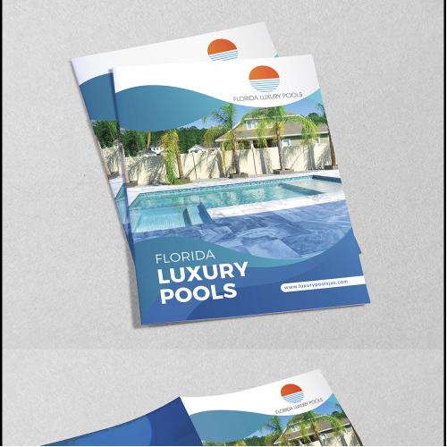 Bi-Fold Brochure Design for Pool Industry