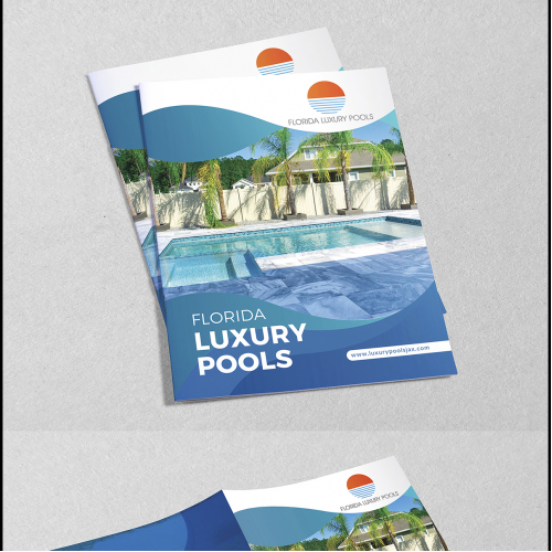 Bi-Fold Brochure Design for Pool Industry