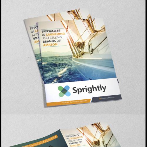 Bi-Fold Brochure Design for Sprightly