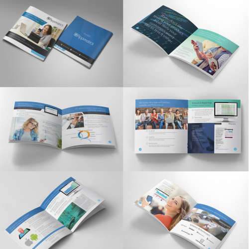 Square Brochure Design