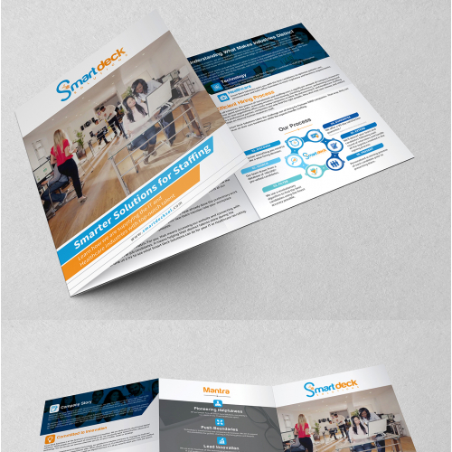 Tri-Fold Brochure Design for Staffing