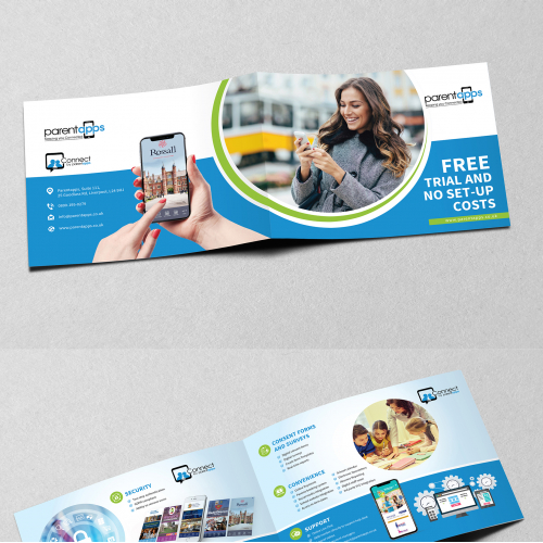 Bi-Fold Brochure Design for Application