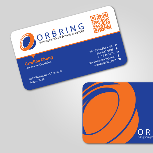Orbring Business Card