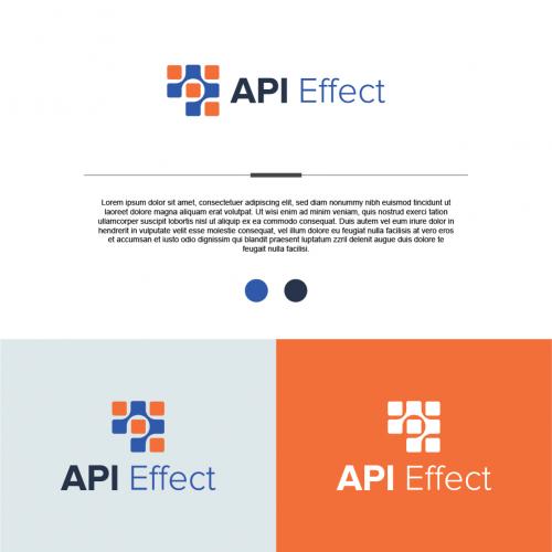 API Effect Logo Design