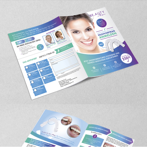 Bi-Fold Brochure for Dental Clinic