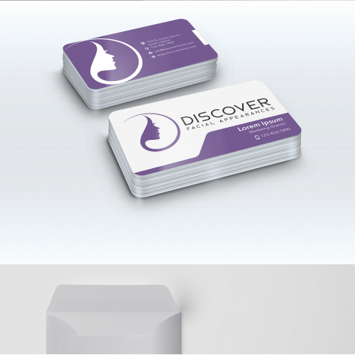 Stationery Design for Discover Facial